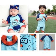 Jual 2017 Fashion Cute Kartun Panas Musim Baru Spa Baby Boys Swimsuit Anak Kids Boys Sun Protection Swim Memakai Murah Tiongkok