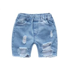Review Toko Anak Baru 2017 Fashion Break Shorts Boys Kapas Murni Jeans Intl Online