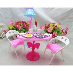 21 Pcs Children Play Mainan Rumah Mini Candlelight Makan Malam Setelan Teh Sakit Alat (Tidak Termasuk Boneka) -Internasional