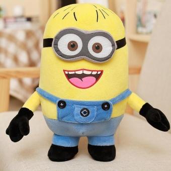 Harga preferensial 25 Cm Despicable Me Minions Big Eyes Cute Bantal Boneka Mainan Plush Boneka Besar Mainan Anak-anak YL213 (Tertawa) -Intl beli sekarang ...
