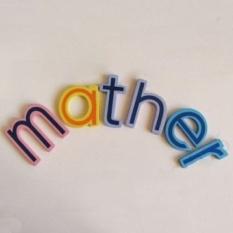 27 Pcs Kayu Alfabet A-Z Huruf Kecil Kulkas Childtoy Ukuran Besar-Internasional