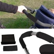 2 Pcs Baby Stroller Grip Cover Pelindung Skid Kursi Roda Poussette Non-slip-Intl