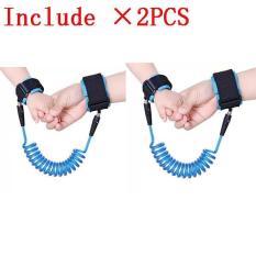 Harga 2 Pcs Haotom Bayi Anak Anti Kehilangan Hook Loop Fastener Wrist Link Rope Band Tali Sabuk Untuk 1 12 Tahun Anak Anak Biru