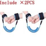 Ulasan Lengkap Tentang 2 Pcs Haotom Bayi Anak Anti Kehilangan Hook Loop Fastener Wrist Link Rope Band Tali Sabuk Untuk 1 12 Tahun Anak Anak Biru Intl