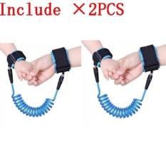 Toko 2 Pcs Haotom Bayi Anak Anti Kehilangan Hook Loop Fastener Wrist Link Rope Band Tali Sabuk Untuk 1 12 Tahun Anak Anak Biru Intl Yang Bisa Kredit