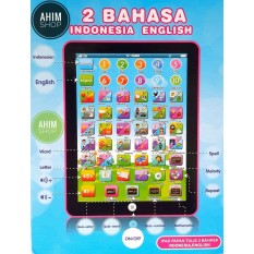 Rp 87.000 2pcs Mainan Edukasi Mini PlayPad iPad 2 Bahasa (INDONESIA–ENGLISH) BERMAIN ...