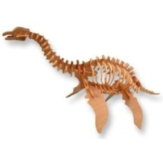 3-D Wooden Puzzle-Plesiosaurus-upah Hadiah For You Littleone! Item # Dchi-Wpz-J010-Intl
