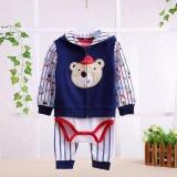Beli 3 In1 Jumper Baby Set Jumper Jaket Celana Panjang Pakaian Bayi Laki Laki Bear Baseball Di Dki Jakarta