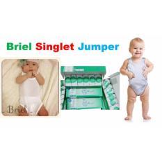 Toko 3 Pcs Briel Singlet Bayi Model Jumper Unisex Yang Bisa Kredit
