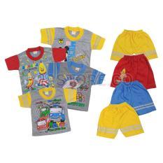 GEMA Singlet / Kaos Dalam Anak Bayi Zedkid Mix Warna M(1-2Tahun) - 12Pcs/1LusinIDR54100. Rp 54.900