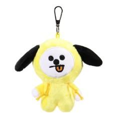 3 x Plush Keychain Key Ring Doll Toy For KPOP BTS BT21 CHIMMY COOKY MANG KOYA SHOOKY - intl