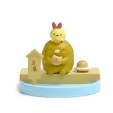3.5 Cm Zakka Bio Kawaii Kaki Babi Makan Kue Kering Gourmet Editionfigures Mainan Anak DIY Mikro Taman Lanskap Dekorasi Alat Peraga Mainan -Internasional