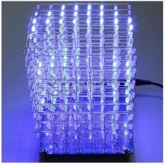3D Lightsquared 8X8X8 Led Cube White Led Blue Ray Diy Kit - Yupcmb