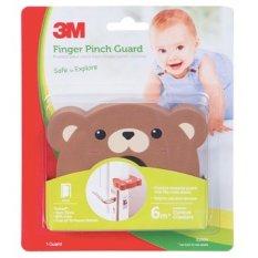 Promo Command Sc12 Finger Child Finger Guard Bear Melindungi Anak Dari Bahaya Terjepit Pintu 1 Each Cokelat 3M Command Terbaru