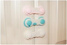 3 Pcs/lot Terbaru Keselamatan Bayi Anak Perlindungan Multifungsi Aman Laci Lemari Kabinet Pintu Kulkas Produk Keamanan Latch Lock- INTL
