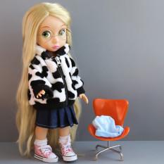 40cm Mewah Boneka Pakaian Sapi Perah Lembut Baju Boneka