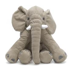 40 Cm Lembut Gajah Lovely Plush Boneka Tidur Bantal Bayi Kids Lumbar Cushion Baru
