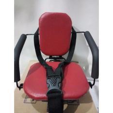 (4in1) Produsen Kursi bonceng boncengan anak di depan motor matik, bebek manual, dan sepeda ontel Terlaris