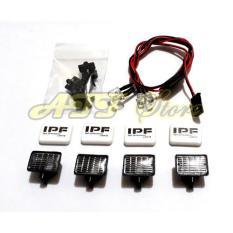 4Pcs Led Light With Ipf Lamp Casing For Rc Adventure & Crawler - Tdamlu