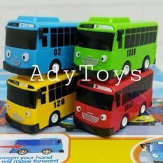 4Pcs/Set Bus Korea Tayo Gani Rani Rogi Murah Mainan Anak - Ktxsb1