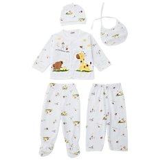 Beli 5 Buah Topi Bayi Pakaian Dalam Katun Motif Hewan Cukin Kuning Cicilan