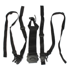 Jual 5 Point Baby Safe Belt Strap Bayi Harness Stroller Kursi Pram Spark Hitam Belt Oem