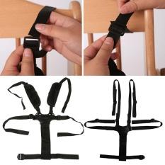 5 Point Baby Seat Belt Baby Dining High Chair Children Stroller Accessories - intl
