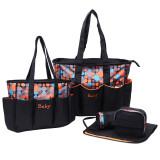 Model 5 Pcs Multifungsi Diaper Bags Intl Terbaru