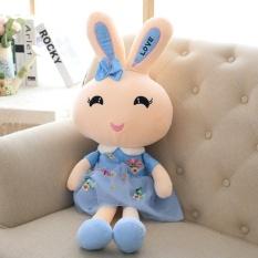 60 Cm Floss Kelinci Mainan Tokoh Kecantikan Cinta Kelinci Syal Gaya Putri Tu Rok Mainan Figurine