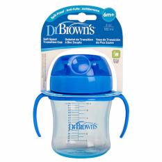 Review Dr Brown S 6Oz Soft Spout Transition Cup Blue 61001 Bali