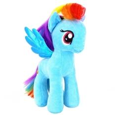 Harga 7 My Little Pony Horse Figures Stuffed Plush Soft Doll Toy Gift Rainbow Dash Good Intl Online Tiongkok