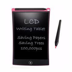 "8.5 ''Digital LCD Paperless Notepad Writing Tablet Pendidikan Menggambar Mainan Bandung Photo: ""Menulis Board (Rose)-Intl"
