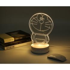 Tiga Dimensi Kreatif LED Cahaya Malam Kecil BirthdayGiftItems 3 D IKEA Kamar Tidur Kamar Tidur Lampu Meja Lampu Samping Tempat Tidur-Intl