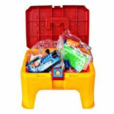 AA Toys 2 in 1 Block Chair 24 Pcs - Mainan Block Bentuk Kursi