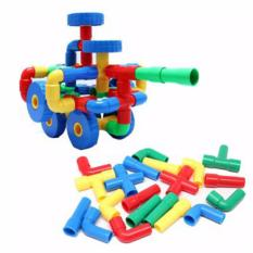 Beli Aa Toys Funny Block Pipa Puzzle Game Block Pipa Tabung