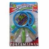 Review Toko Aa Toys Happy Time Sports Healthpak Skipping Dan Racket Maianan Olahraga Plastik