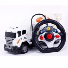 Jual Aa Toys Mainan Anak Truck Cement Mixer Bo Mobil Remot Truck Molen Import