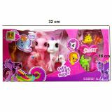 Model Aa Toys Mainan Mini Little Pony 2 Pcs Play Set 1146 Terbaru