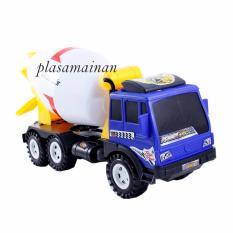 Promo Toko Aa Toys Mainan Truck Cement Mixer Plastik 2773
