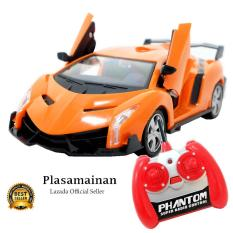 AA Toys Mainan Anak Out Rider Car Radio Control Orange Scale 1 24 BO - 7160888803