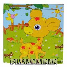 AA Toys Puzzle Kayu Hewan 15 x 15 QX147 - Mainan Kayu Binatang Kancil