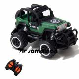 Cuci Gudang Aa Toys Rock Crawler Exquisite Line Mini Car 1 43 Jeep Hijau Mainan Mobil Remot Truck Monster