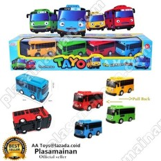 Jual Aa Toys Tayo Bus Isi 4 Pcs Pull Back Packing Dus Murah