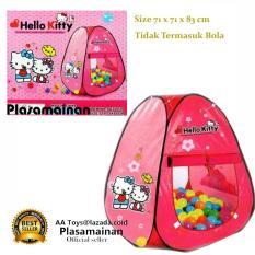 Ulasan Aa Toys Tenda Anak Segitiga Hello Kitty Sg7003Hk Tenda Bola Kitty