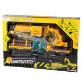 Beli Aa Toys Train Contruction Super Power Bo Mainan Anak Kereta Api Set Dan Truck Excapator Beko