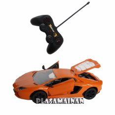 Beli Aa Toys Two Door And Back Side Open Racing Car Bo Orange Mainan Mobil Remote Control Cicilan