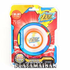 AA Toys Yoyo Contest Electric Shock Color Fun Orange - Mainan Yoyo
