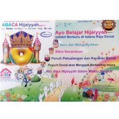 Harga Abaca Flashcard Hijaiyah Seri 1 Berburu Di Istana Raja Donat Merk Abaca