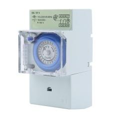 AC 220 V 24 H Rentang Waktu Mekanis Saklar Waktu Manual/Auto Control Timer-Intl
