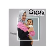 Review Adora Baby Gendongan Kaos Bayi Geos Salur Pink New Terbaru
